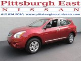 2012 Cayenne Red Nissan Rogue S AWD #83316749