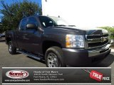 2011 Taupe Gray Metallic Chevrolet Silverado 1500 LS Extended Cab #83363284