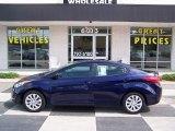 2012 Indigo Night Blue Hyundai Elantra GLS #83378260