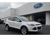 2014 White Platinum Ford Escape Titanium 1.6L EcoBoost #83377726