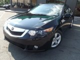2010 Crystal Black Pearl Acura TSX Sedan #83377903