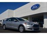 2013 Ingot Silver Metallic Ford Fusion S #83377724