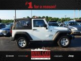 2012 Bright White Jeep Wrangler Sport 4x4 #83377192