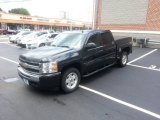 2009 Black Granite Metallic Chevrolet Silverado 1500 LT Crew Cab 4x4 #83377896