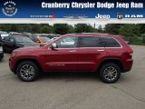 2014 Deep Cherry Red Crystal Pearl Jeep Grand Cherokee Limited 4x4 #83377571