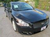 2011 Crimson Black Nissan Maxima 3.5 SV #83377389