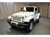 2012 Bright White Jeep Wrangler Sahara 4x4 #83377178