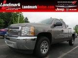 2012 Graystone Metallic Chevrolet Silverado 1500 LS Extended Cab #83377704