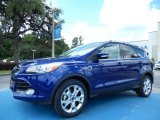 2014 Deep Impact Blue Ford Escape Titanium 1.6L EcoBoost #83377527