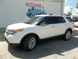2014 White Platinum Ford Explorer XLT #83377325