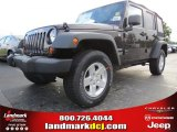 2013 Rugged Brown Pearl Jeep Wrangler Unlimited Sport 4x4 #83377656