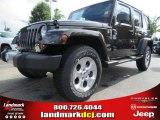 2013 Rugged Brown Pearl Jeep Wrangler Unlimited Sahara 4x4 #83377653