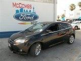 2013 Tuxedo Black Ford Focus Titanium Hatchback #83377313
