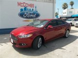 2013 Ruby Red Metallic Ford Fusion SE 1.6 EcoBoost #83377304