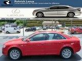 2008 Brilliant Red Audi A4 2.0T quattro Sedan #83377848