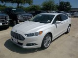2013 White Platinum Metallic Tri-coat Ford Fusion SE 1.6 EcoBoost #83377297