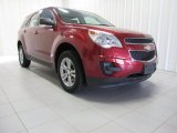 2010 Cardinal Red Metallic Chevrolet Equinox LS AWD #83378370