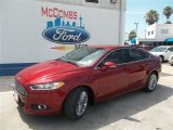 2013 Ruby Red Metallic Ford Fusion SE 1.6 EcoBoost #83377294