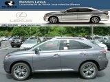 2013 Nebula Gray Pearl Lexus RX 450h AWD #83377834