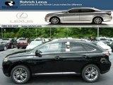 2013 Obsidian Black Lexus RX 450h AWD #83377832