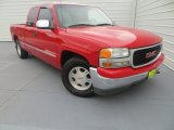 2001 Fire Red GMC Sierra 1500 SLE Extended Cab #83377980