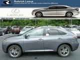 2013 Nebula Gray Pearl Lexus RX 450h AWD #83377825