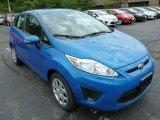 2013 Blue Candy Ford Fiesta SE Hatchback #83377592