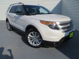 2014 White Platinum Ford Explorer XLT #83377970