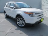 2014 White Platinum Ford Explorer Limited #83377969