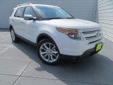 2014 White Platinum Ford Explorer Limited #83377969