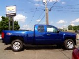 2013 Blue Topaz Metallic Chevrolet Silverado 1500 LT Extended Cab 4x4 #83377267