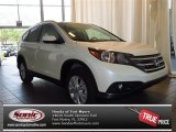 2013 White Diamond Pearl Honda CR-V EX-L #83377103