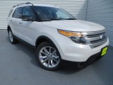 2014 White Platinum Ford Explorer XLT #83377968