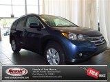 2013 Twilight Blue Metallic Honda CR-V EX-L #83377101
