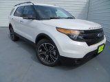 2014 White Platinum Ford Explorer Sport 4WD #83377967