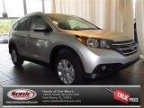 2013 Alabaster Silver Metallic Honda CR-V EX-L #83377099
