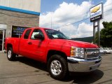2013 Victory Red Chevrolet Silverado 1500 LT Extended Cab 4x4 #83377263