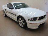 2007 Performance White Ford Mustang GT/CS California Special Coupe #83377084