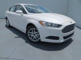 2013 White Platinum Metallic Tri-coat Ford Fusion SE 1.6 EcoBoost #83377960