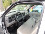 2000 Ford F250 Super Duty XL Regular Cab Medium Graphite Interior
