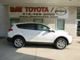 2013 Blizzard White Pearl Toyota RAV4 Limited AWD #83377243