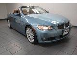 2009 Atlantic Blue Metallic BMW 3 Series 328i Convertible #83378326