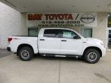 2013 Super White Toyota Tundra TRD Rock Warrior CrewMax 4x4 #83377235
