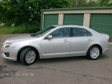 2010 Brilliant Silver Metallic Ford Fusion Hybrid #83377404
