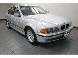 2000 Titanium Silver Metallic BMW 5 Series 528i Sedan #83378323