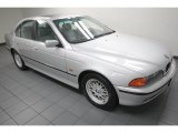 Titanium Silver Metallic BMW 5 Series in 2000
