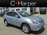 2013 Frosted Steel Nissan Rogue SV AWD #83377069