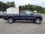 2013 Blue Jeans Metallic Ford F250 Super Duty XLT SuperCab 4x4 #83377212