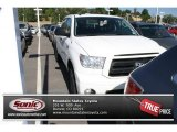 2011 Super White Toyota Tundra TRD Rock Warrior CrewMax 4x4 #83469290