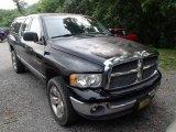 2002 Black Dodge Ram 1500 SLT Quad Cab 4x4 #83469376